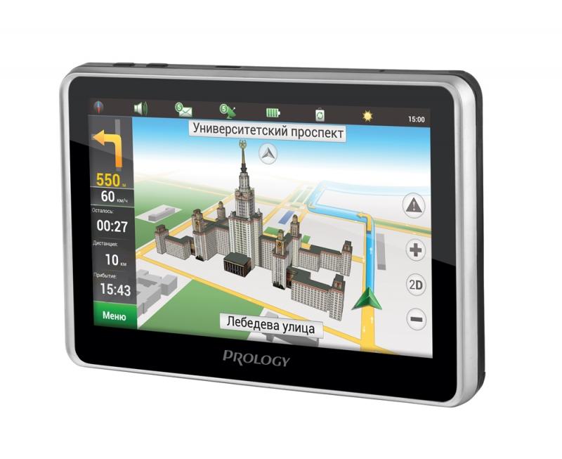 Навигатор prology imap 560tr с видеорегистратором