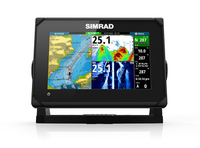 Картплоттер SIMRAD GO7, ROW XSE TotalScan